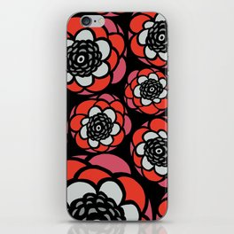 Floral-002 iPhone Skin