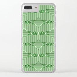 Op Art 94 Clear iPhone Case