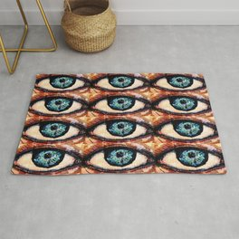 Watercolor Eye Rug