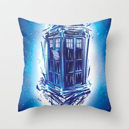 Broken Time Throw Pillow
