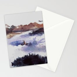 Hidden in the heights Stationery Cards
