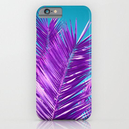 purple palm tree iPhone & iPod Case