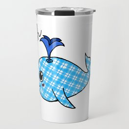 Oh, Whale Travel Mug