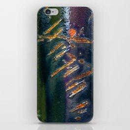 Metal Scratch iPhone Skin
