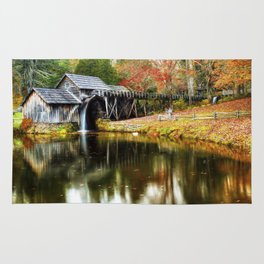 Mabry Mill Autumn Rug