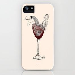 Merlotmaid iPhone Case