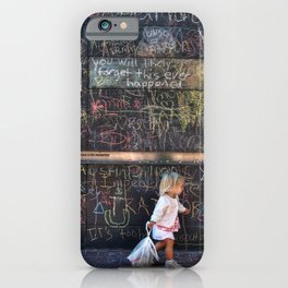 Taking my Chalk and Going Home iPhone Case