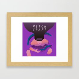 Witch craft Framed Art Print
