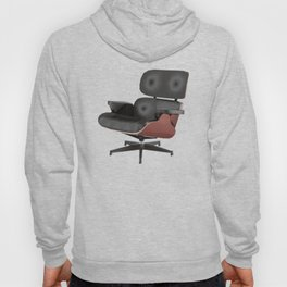 Eames Lounge Chair Polygon Art Hoody