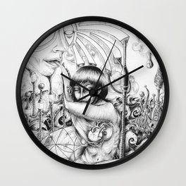 Lui parler Wall Clock