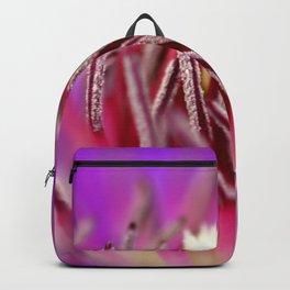 Inside of a Flower Backpack