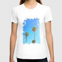 palms T-shirts featuring Palms by Tonya Doughty