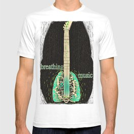 Breathing music T-shirt