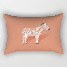 Animal Kingdom: Zebra I Rectangular Pillow