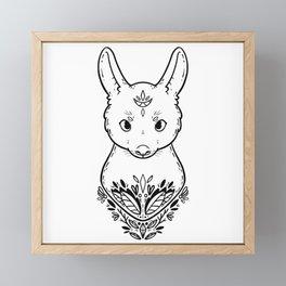 Rabbit Framed Mini Art Print
