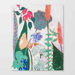 Speckled Garden Canvas Print