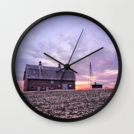 Ventura Barn Wall Clock