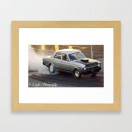 Spin them Wheels Framed Art Print