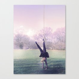 gravity gust Canvas Print