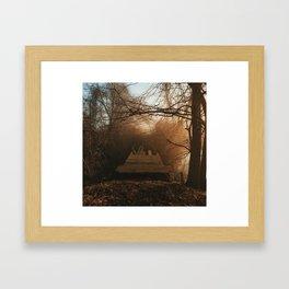 Between Itself And Us Framed Art Print