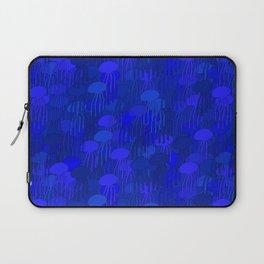 Jellyfish Blue Laptop Sleeve
