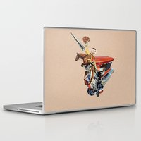 western Laptop & iPad Skins featuring Western by Lerson