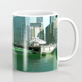 Chicago River on St. Patrick's Day #Chicago Coffee Mug