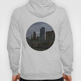 View of downtown Calgary from the other side of the tracks Hoody