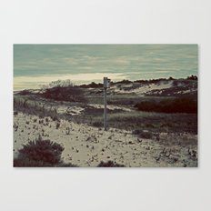 Nautica: Home is Where the Dune Is Canvas Print