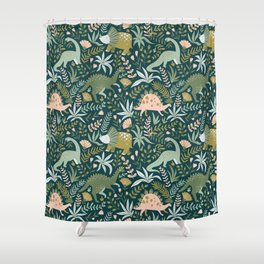 Dino Shower Curtain
