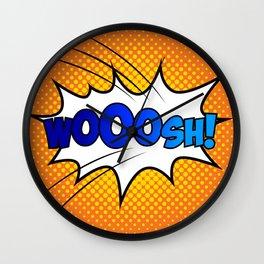 Wooosh ! Wall Clock