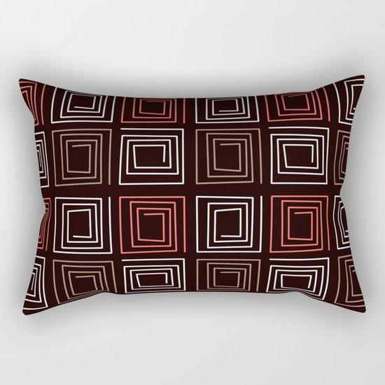 "Art Deco ""Diva "" Rectangular Pillow"
