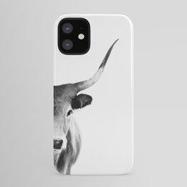 Honey - black and white iPhone Case