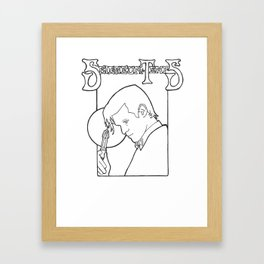 Time Lord Framed Art Print