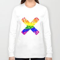 rainbow Long Sleeve T-shirts featuring Rainbow by mailboxdisco
