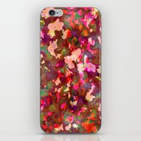 charmaine olivia iPhone & iPod Skins featuring OLIVIA by Charley Sedgeley