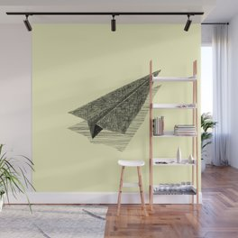 Paper Airplane 13 Wall Mural