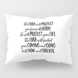 Psalm 121:7-8 - Bible Verse Pillow Sham