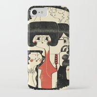it crowd iPhone & iPod Cases featuring Crowd by Pigologist