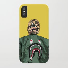 bape shark yellow iPhone Case