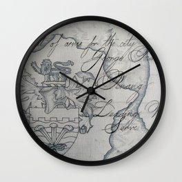 Leading We Serve Wall Clock