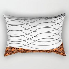 Line 1 Rectangular Pillow