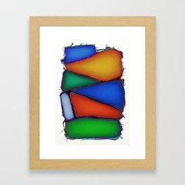 Pillow fight Framed Art Print