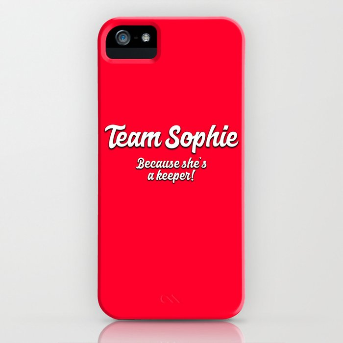 team sophie iphone case