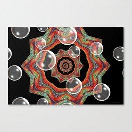 Pretty Bubbles Canvas Print
