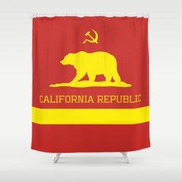 Cali Commie - California Communist Shower Curtain