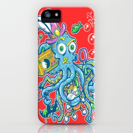 Bubbles Tenticool iPhone Case