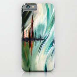 Abstract Cityscape iPhone Case