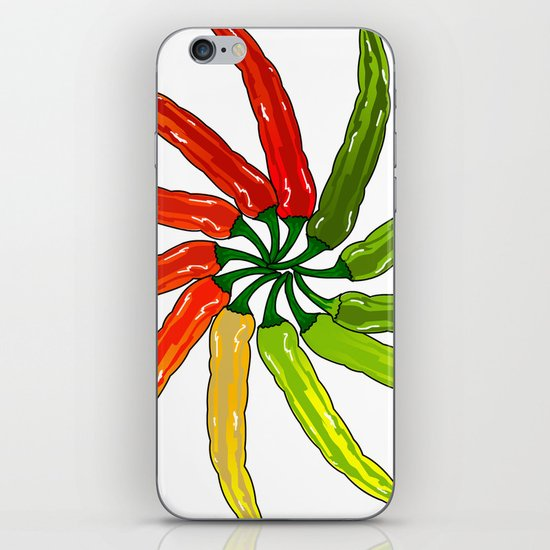 Spicy iPhone & iPod Skin