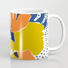 Modern flowers - design for a happy life Coffee Mug
